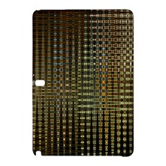 Background Colors Of Green And Gold In A Wave Form Samsung Galaxy Tab Pro 12.2 Hardshell Case