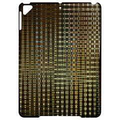 Background Colors Of Green And Gold In A Wave Form Apple Ipad Pro 9 7   Hardshell Case