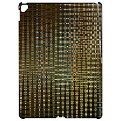 Background Colors Of Green And Gold In A Wave Form Apple Ipad Pro 12 9   Hardshell Case
