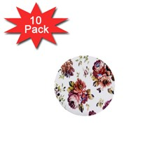 Texture Pattern Fabric Design 1  Mini Buttons (10 pack)