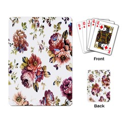 Texture Pattern Fabric Design Playing Card