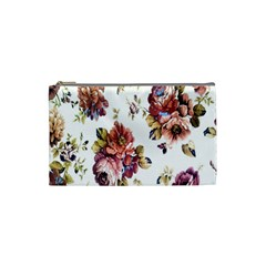 Texture Pattern Fabric Design Cosmetic Bag (small)