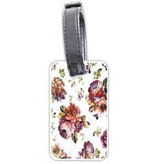 Texture Pattern Fabric Design Luggage Tags (two Sides)