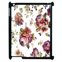 Texture Pattern Fabric Design Apple iPad 2 Case (Black)