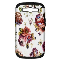 Texture Pattern Fabric Design Samsung Galaxy S Iii Hardshell Case (pc+silicone)