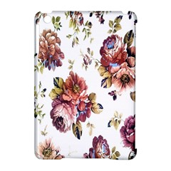 Texture Pattern Fabric Design Apple iPad Mini Hardshell Case (Compatible with Smart Cover)
