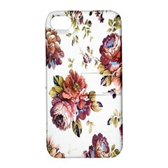 Texture Pattern Fabric Design Apple Iphone 4/4s Hardshell Case With Stand