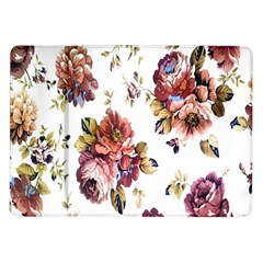 Texture Pattern Fabric Design Samsung Galaxy Tab 10 1  P7500 Flip Case