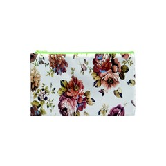 Texture Pattern Fabric Design Cosmetic Bag (xs)