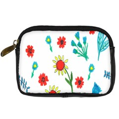 Flowers Fabric Design Digital Camera Cases