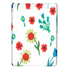 Flowers Fabric Design Ipad Air Hardshell Cases