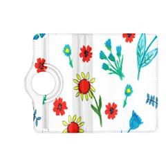 Flowers Fabric Design Kindle Fire HD (2013) Flip 360 Case