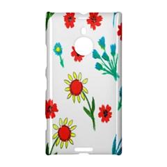 Flowers Fabric Design Nokia Lumia 1520