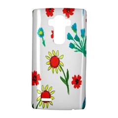 Flowers Fabric Design Lg G4 Hardshell Case