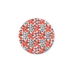 Simple Japanese Patterns Golf Ball Marker (4 pack)