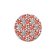 Simple Japanese Patterns Golf Ball Marker (10 Pack)
