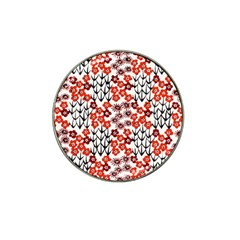 Simple Japanese Patterns Hat Clip Ball Marker (4 Pack)