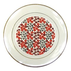 Simple Japanese Patterns Porcelain Plates