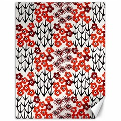 Simple Japanese Patterns Canvas 12  x 16
