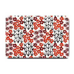 Simple Japanese Patterns Small Doormat