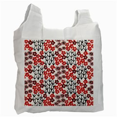 Simple Japanese Patterns Recycle Bag (Two Side)