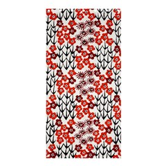 Simple Japanese Patterns Shower Curtain 36  x 72  (Stall)