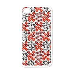 Simple Japanese Patterns Apple iPhone 4 Case (White)