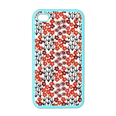 Simple Japanese Patterns Apple Iphone 4 Case (color)