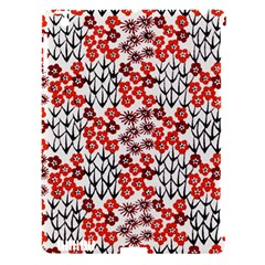 Simple Japanese Patterns Apple iPad 3/4 Hardshell Case (Compatible with Smart Cover)