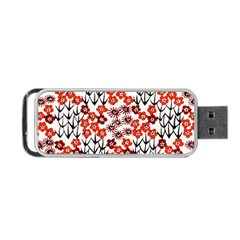 Simple Japanese Patterns Portable Usb Flash (two Sides)