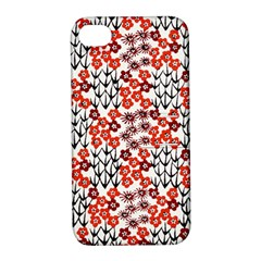 Simple Japanese Patterns Apple Iphone 4/4s Hardshell Case With Stand