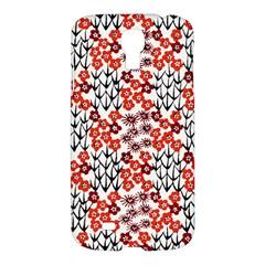 Simple Japanese Patterns Samsung Galaxy S4 I9500/I9505 Hardshell Case