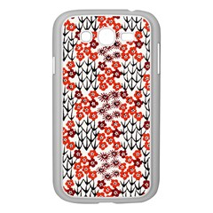 Simple Japanese Patterns Samsung Galaxy Grand Duos I9082 Case (white)