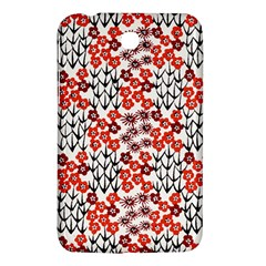 Simple Japanese Patterns Samsung Galaxy Tab 3 (7 ) P3200 Hardshell Case