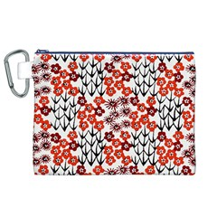 Simple Japanese Patterns Canvas Cosmetic Bag (xl)