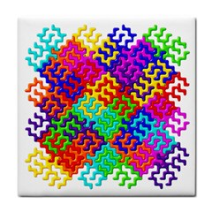 3d Fsm Tessellation Pattern Tile Coasters