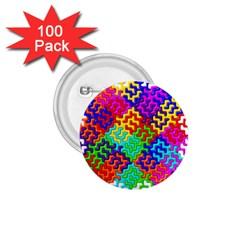 3d Fsm Tessellation Pattern 1.75  Buttons (100 pack)