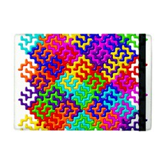 3d Fsm Tessellation Pattern Apple Ipad Mini Flip Case
