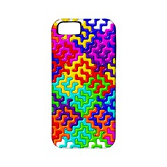 3d Fsm Tessellation Pattern Apple iPhone 5 Classic Hardshell Case (PC+Silicone)