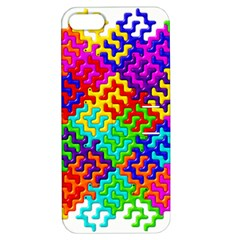 3d Fsm Tessellation Pattern Apple iPhone 5 Hardshell Case with Stand
