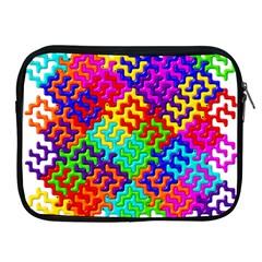 3d Fsm Tessellation Pattern Apple Ipad 2/3/4 Zipper Cases