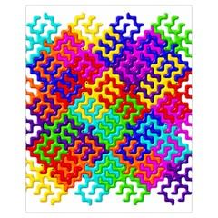 3d Fsm Tessellation Pattern Drawstring Bag (Small)