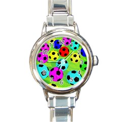 Balls Colors Round Italian Charm Watch
