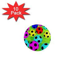 Balls Colors 1  Mini Magnet (10 Pack)