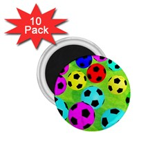 Balls Colors 1.75  Magnets (10 pack)
