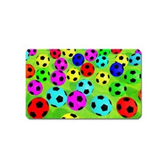 Balls Colors Magnet (Name Card)