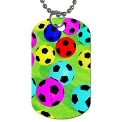 Balls Colors Dog Tag (One Side)