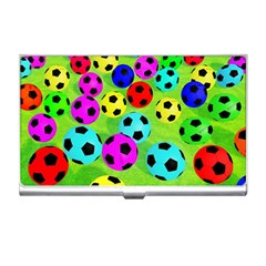 Balls Colors Business Card Holders