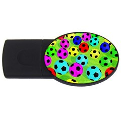 Balls Colors USB Flash Drive Oval (2 GB)