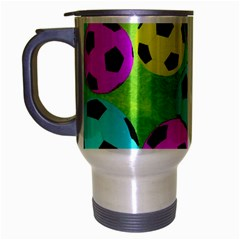 Balls Colors Travel Mug (silver Gray)